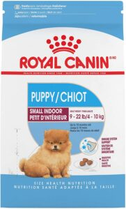 Dry Dog Food for Small Puppy living Indoor by Royal Canin